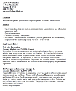construction resume sections and effective samples